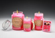Raspberry Vanilla Candles