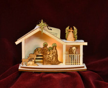 Ginger Nativity by Ginger Cottage