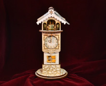 Ginger Clock Tower by Ginger Cottage