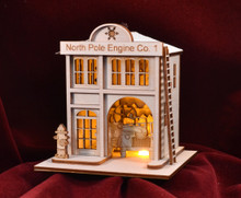 North Pole Engine Co. #1 by Ginger Cotage