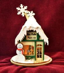 Santa's Snowflake Factory By Ginger Cottage