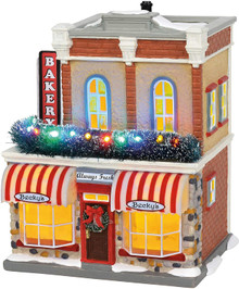 Main Street Bakery Department 56 Original Snow Village 6002297