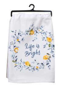 Kay Dee Designs Life is Bright  Kitchen Towel
