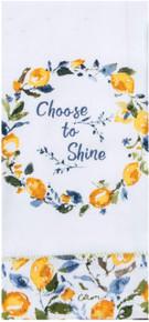 Kay Dee Designs Choose to Shine Tea Towel