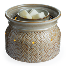 Basketweave Fan Wax Warmer