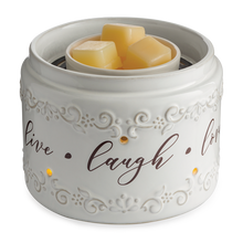 Live, Laugh, Love Fan  Wax Warmer