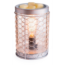Chicken Wire Edison Bulb Wax Warmer