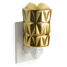 Gold Facets Plug-In Wax Warmer