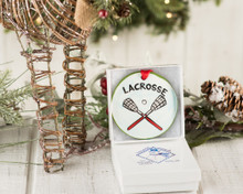 Nola Watkins Lacrosse Ornament