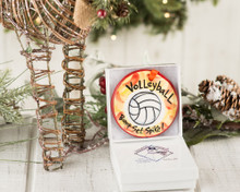 Nola Watkins Volleyball Ornament