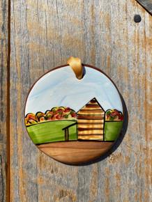 Nola Watkins Tobacco Barn Ornament