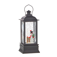 FROSTY'S TREE FARM MUSICAL LIGHTED WATER LANTERN 4000793