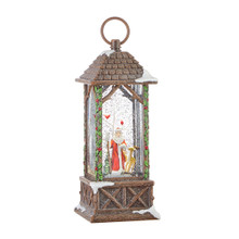 SANTA LIGHTED WATER LANTERN 3900763