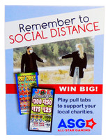 Social  Distance Table Tents (Pack of 10)
