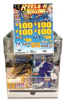 Acrylic Flow Control Ticket Bin - 14-Inch