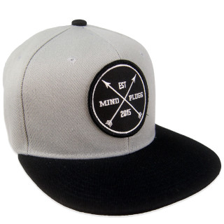 3d21c98a672 Kids Silver and Black brim snapback featuring our original Est Patch.  Comfortable and lightweight for