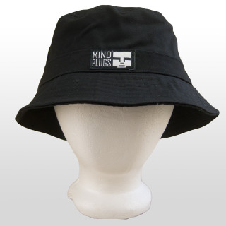 bbda628d4c5 Keep it classy with this All Black Mind Plugs bucket hat. Dress it up or