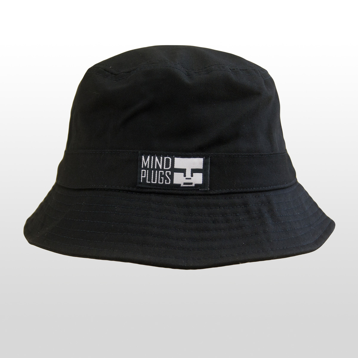 Keep it classy with this All Black Mind Plugs bucket hat. Dress it up or  dress it down 02a7ddf6c4f