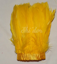 2 Yard Nagorie Feathers 4-6 inch - Gold