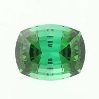 6.14ct Tourmaline Gemstone - Cushion Cut Blue Green Loose Solitaire