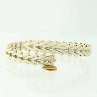 New ALEX AND ANI Cream Gypsy Wrap Bracelet Vintage 66 Collection Adjustable