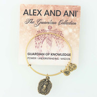 New ALEX AND ANI Guardian of Knowledge Angel Charm Bangle Bracelet Enlighten Me
