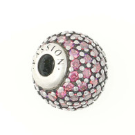 NEW Authentic Pandora Essence Passion Charm - Sterling Silver Retired 796063CFR