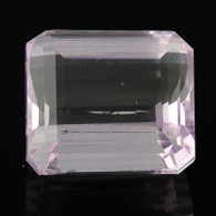 29.81ct Kunzite Gemstone - Rectangle Loose Solitaire
