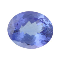 3.66ct Tanzanite Gemstone - Oval Cut Loose Solitaire