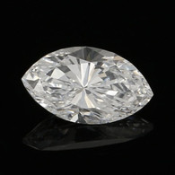 .46ct Loose Diamond - Marquise Cut GIA Graded Solitaire SI2 D