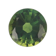3.24ct Loose Green Sapphire - Round Cut Solitaire