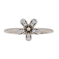 NEW Authentic Pandora Dazzling Daisy Ring - Sterling Clear 58 (US 8.5) 190932CZ