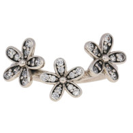 NEW Authentic Pandora Dazzling Daisies Ring - Sterling Flower 52 (US 6) 190933CZ