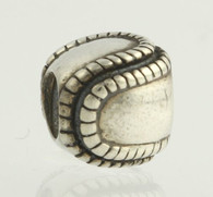 NEW Chamilia Bead Charm - Sterling Silver Baseball GD-2 Collectors Women's 925
