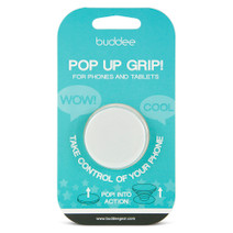 buddee Pop Up Grip - White