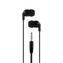 Earbud headphones - Black
