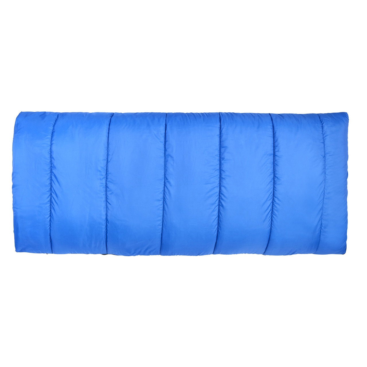 Wenzel Apache 30 degree sleeping bag, blue, fully zipped