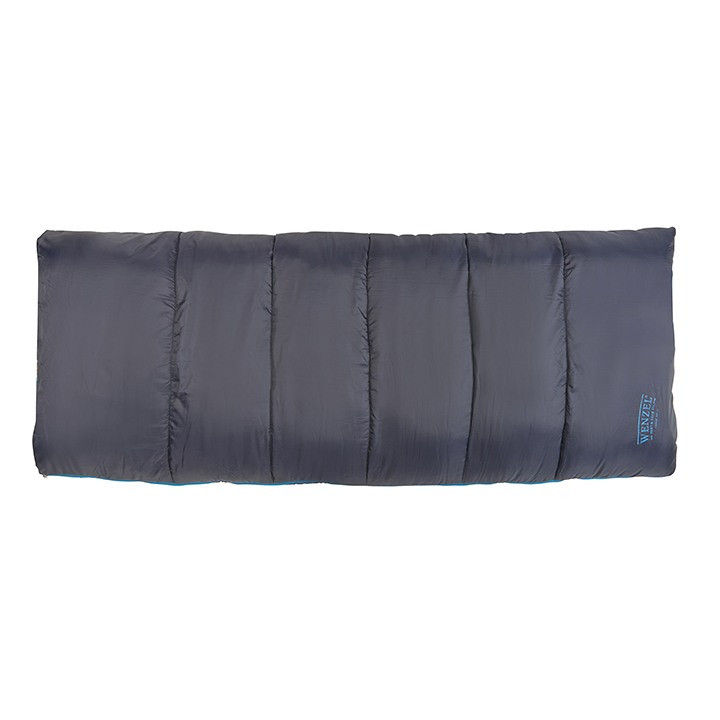 Wenzel Night Rider sleeping bag laying flat fully zipped shut