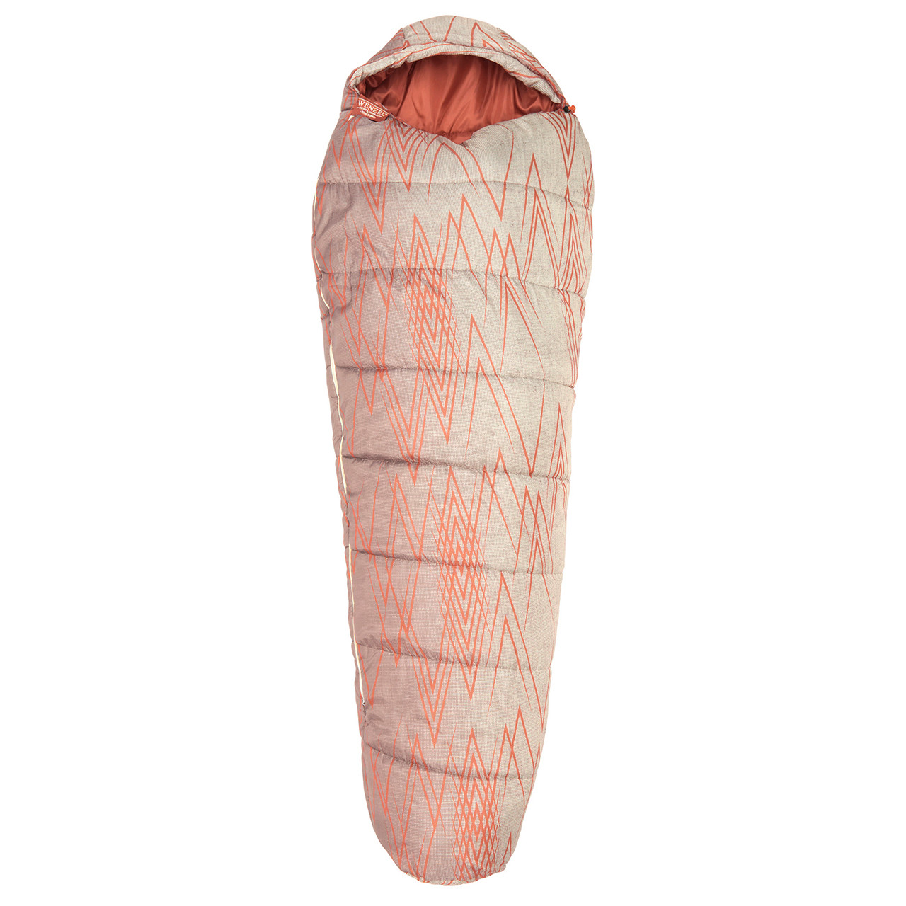 Wenzel Wyatt sleeping bag laying flat fully closed