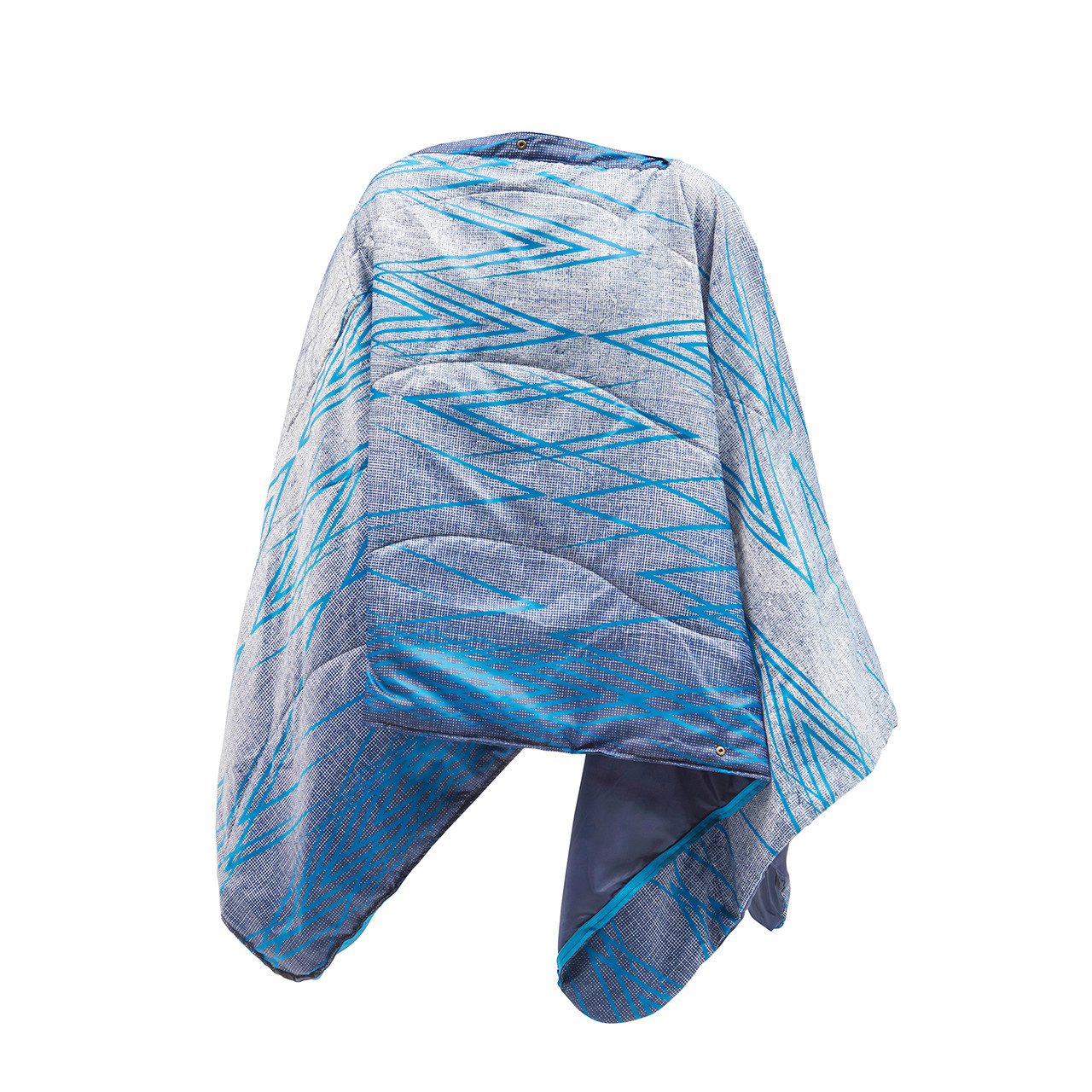 Wenzel Everett All-In-One Poncho set up as a poncho