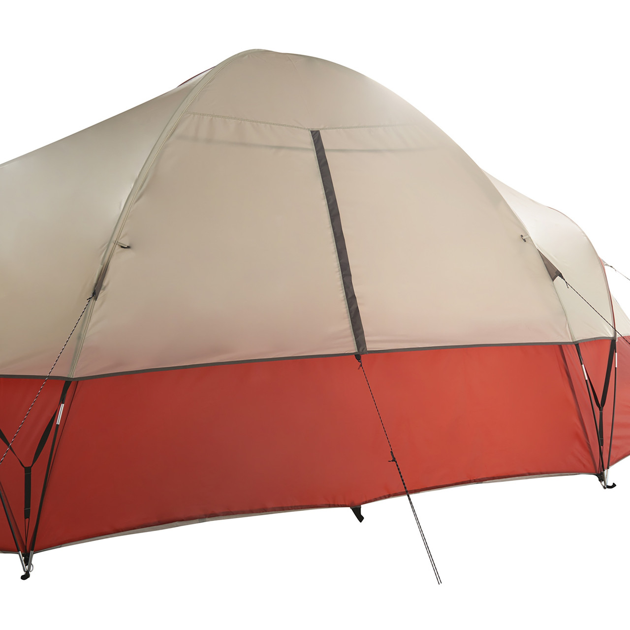 Wenzel Bristlecone 8 Person Dome Tent, showing rear window, fully closed