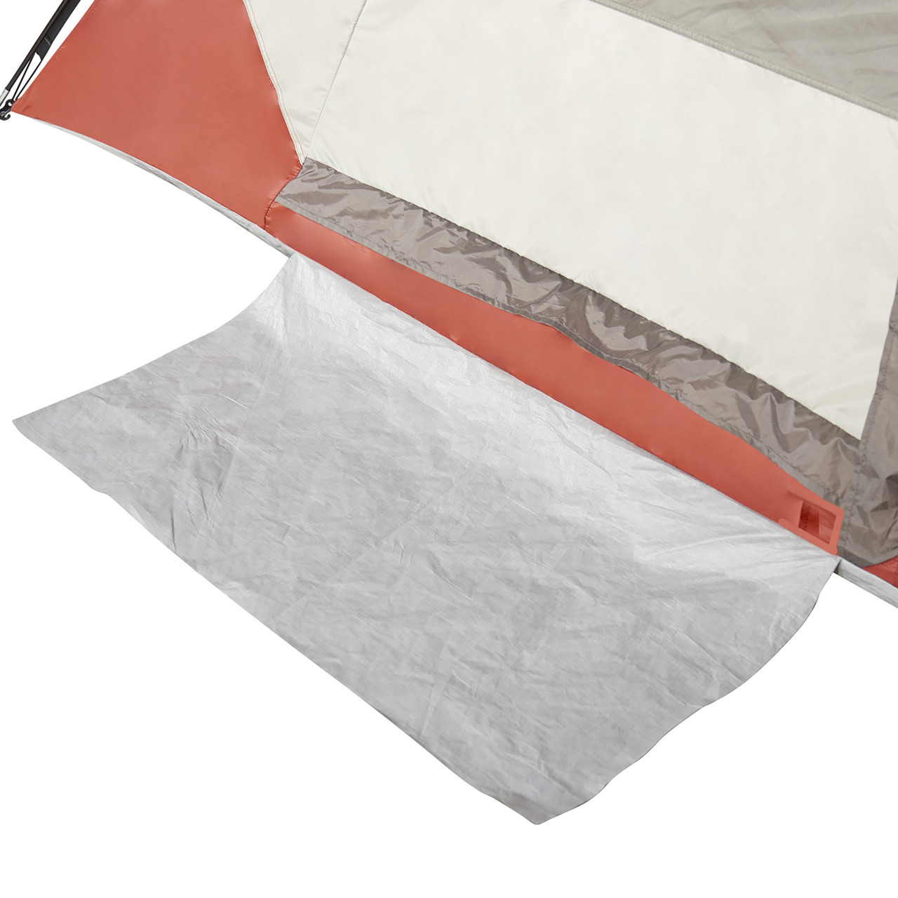 Close up of Wenzel Torry 2 Person Dome Tent, showing floor mat