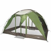 Wenzel Durango Magnetic Screen House, green, front view