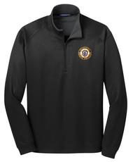 1/4 Zip Vertical Texture Pullover
