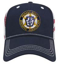 Embroidered with the PA Sheriffs Association logo.