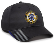 Pennsylvania Sheriff Association logo embroidered on front of cap.