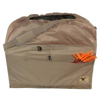 AVERY GREENHEAD GEAR GHG 12-SLOT MID-SIZE FULL BODY GOOSE DECOY BAG FIELD KHAKI