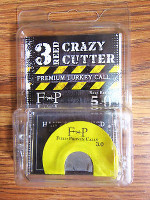 FIELD PROVEN DUCK & GOOSE CALLS CRAZY CUTTER 3 REED TURKEY CALL NEW !!!