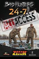 ZINK 24-7 DUCK & GOOSE CALLS BAND HUNTERS 5 ALL ACCESS DVD