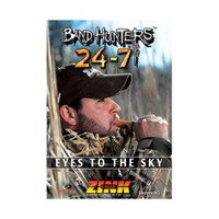 ZINK 24-7 DUCK & GOOSE CALLS BAND HUNTERS 6 EYES TO THE SKY DVD NEW 2014 !!!!